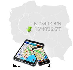 Współrzędne GPS